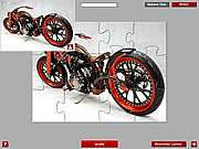 Chooper Bike Jigsaw game
