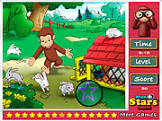Curious George Hidden Stars game