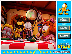 Garfield Hidden Stars game