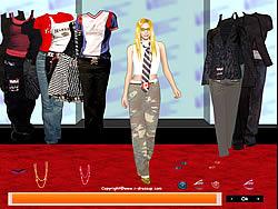 Gioca gratuitamente a Avril Lavigne Dress up