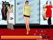 Hilary Duff Dress up 2 game
