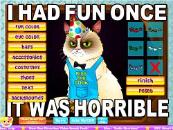 Grumpy Cat game