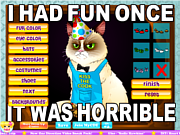 Play Grumpy cat Game