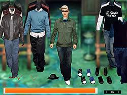 Justin Timberlake Dress up game