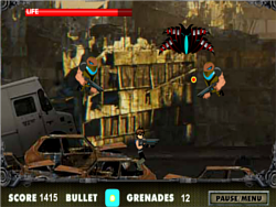 Ben 10 City Battle game
