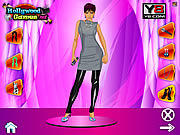 Play Victoria beckham dress up game Game