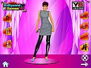 Victoria Beckham Dress Up game
