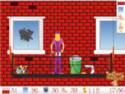 Skycraper Cleaning game