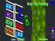 Busy City Parking game
