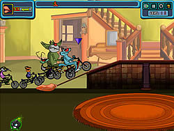 Oggy the Racing game