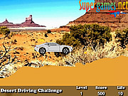 Desert Driving Challenge game