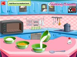 Spielen Sie das Gratis-Spiel  Lemon Cake Cooking