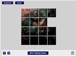 Ninja Turtles Sliding game