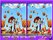 Play Cloudy with a chance spot the difference Game
