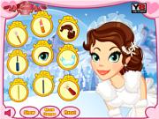 Play Winter wonderland wedding makeover Game