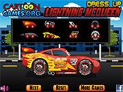 Play Lightning mcqueen dress up Game