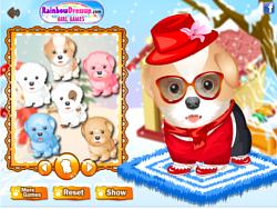 Snow Puffs game