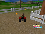 Tractor in Farm game