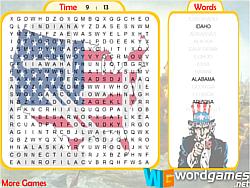 Permainan US Word Search