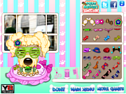 Play Pampered dog salon Game