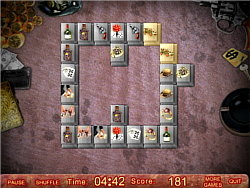 Crime Streets Mahjong game