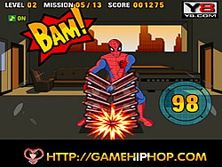 Spiderman's Power Strike game