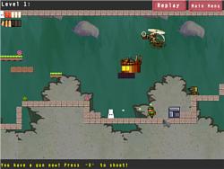 White Rabbit Battle game