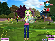 Play Bubble girl dress Game