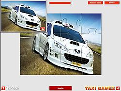 Taxi 4 Jigsaw game