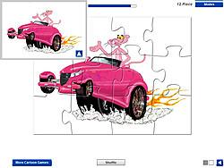 Juega al juego gratis Pink Panther Car