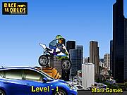 Play Super cartoon biker Game
