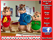 Play Alvin and the chipmunks hidden letters Game