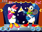 Play Donald dressup Game