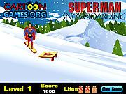 Play Snowboarding superman Game