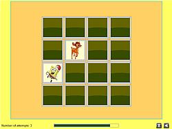 Fun Cartoons Memory game