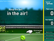Play Optus tennis challenge Game