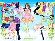 Play Air fairy dress up Game