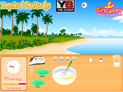 Tropical Cake game