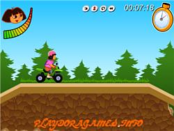 Dora ATV Challenge game