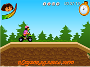Play Dora atv challenge Game