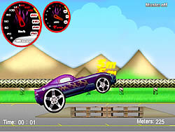 เล่นเกมฟรี Wheelie Cars