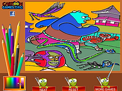Kung Fu Panda Coloring Game game