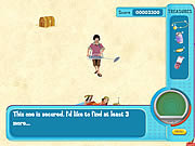 Play Hannah montana olivers treasure hunt Game