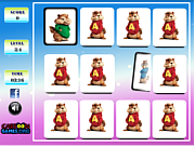 Play Alvin and the chipmunks memory Game
