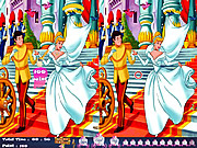 Play Cinderella 10 differences Game