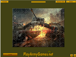 Tank Destroyer Puzzle game