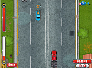 Play Crazy trucker rush Game