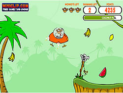 Monkey Lander game