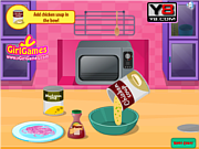 Play Salsa chicken rice Game