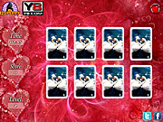 Valentine Cards Match game